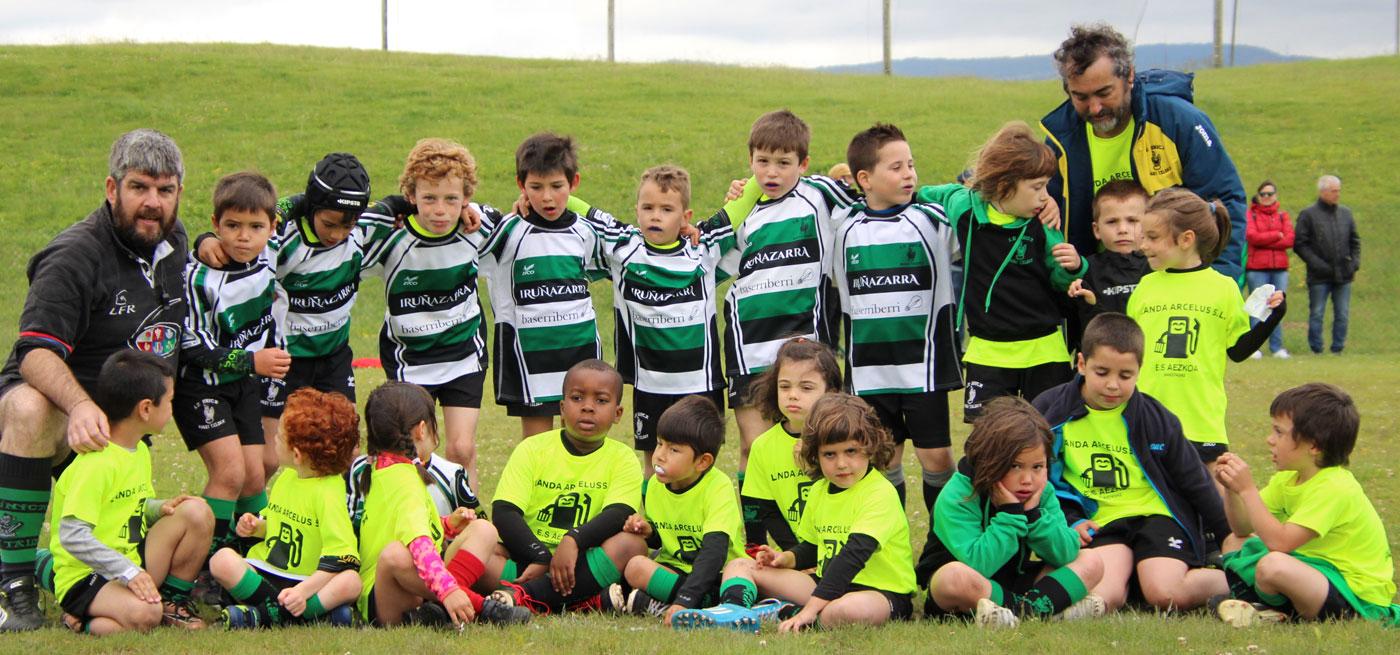 Escuela de rugby Navarra