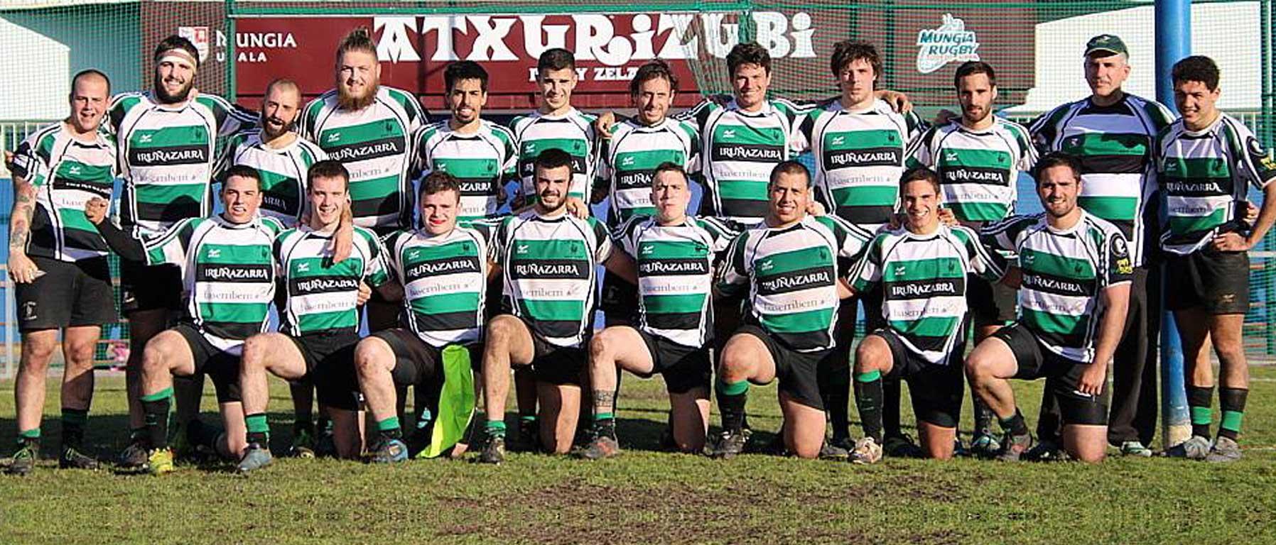 Equipo Senior B Rugby La única navarra