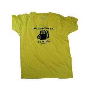 camiseta amarilla LURT